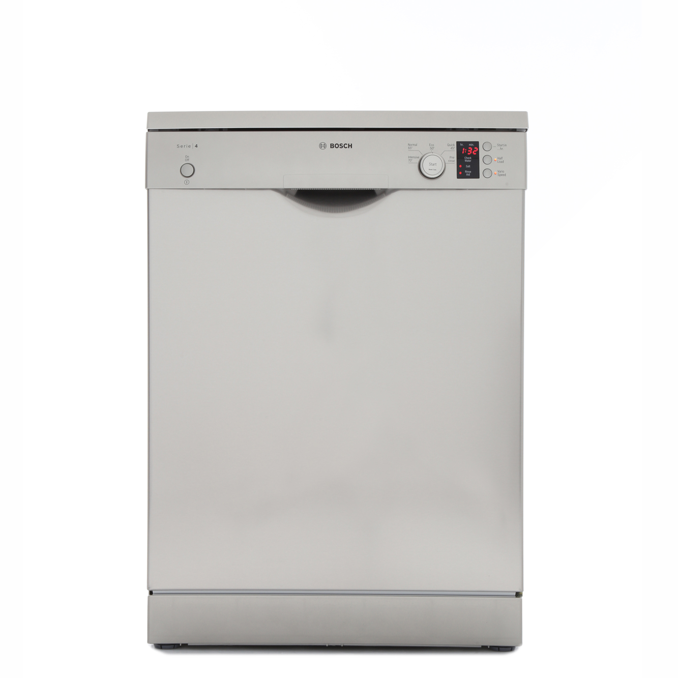 buy bosch serie 4 sms50c28gb dishwasher sms50c28gb silver inox marks electrical. Black Bedroom Furniture Sets. Home Design Ideas