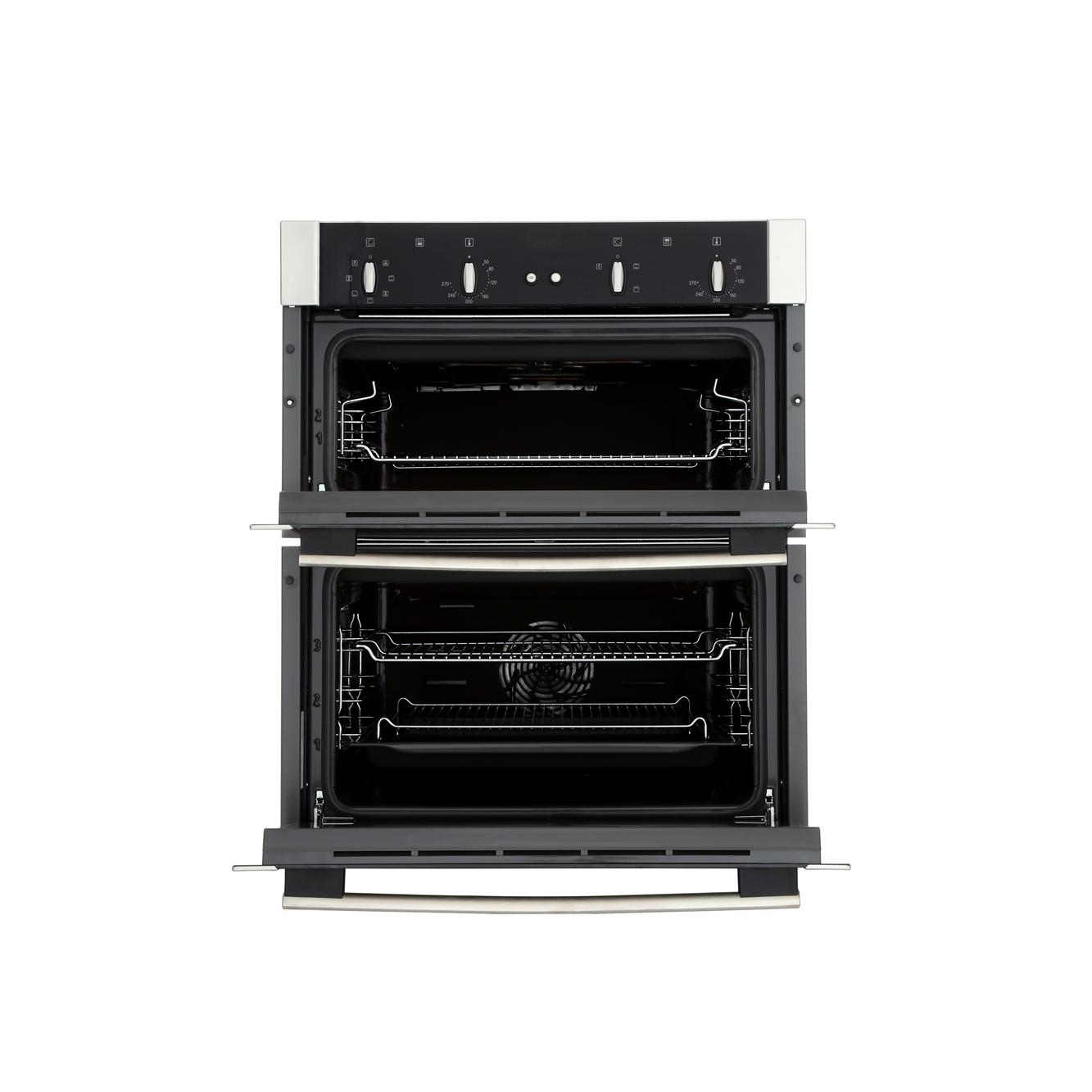 buy neff u17m42n5gb double built under electric oven. Black Bedroom Furniture Sets. Home Design Ideas