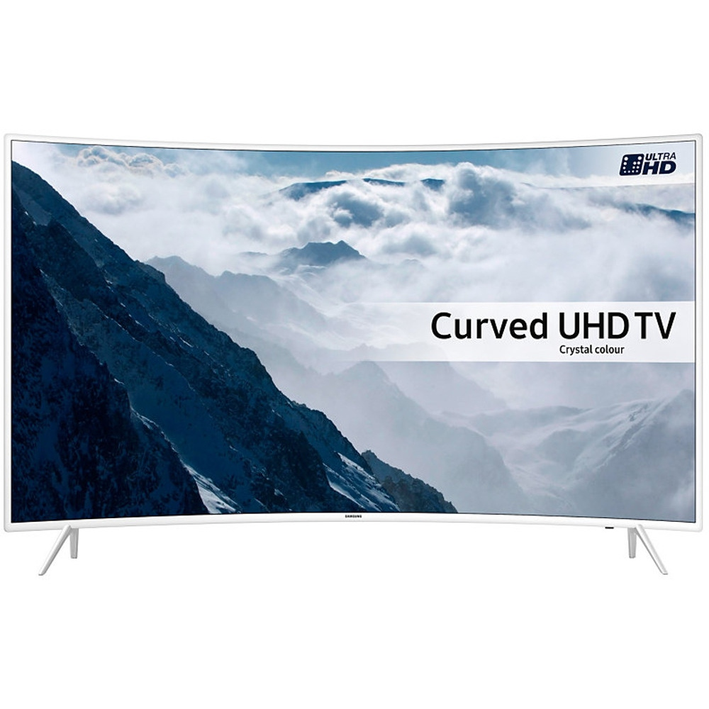 buy samsung series 6 ue43ku6510 43 curved 4k uhd television ue43ku6510 white marks electrical. Black Bedroom Furniture Sets. Home Design Ideas