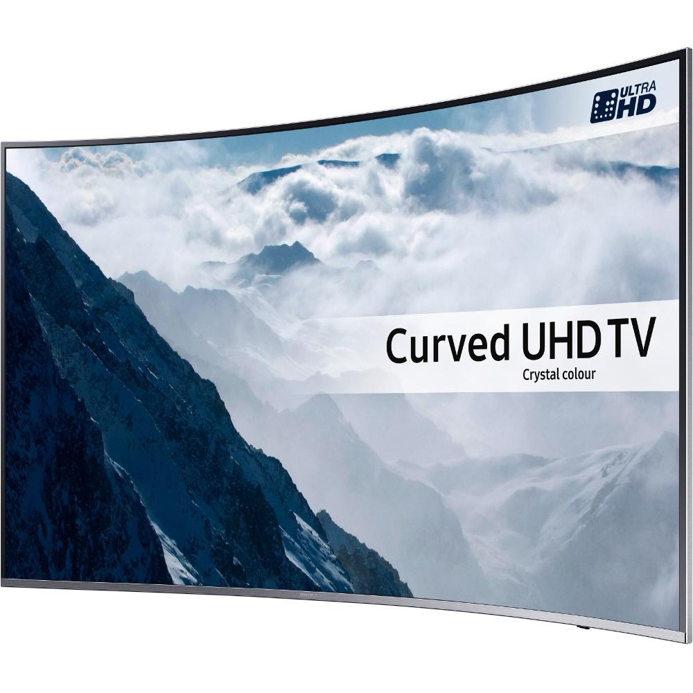 buy samsung series 6 ue49ku6500 49 curved 4k uhd television ue49ku6500 silver marks. Black Bedroom Furniture Sets. Home Design Ideas