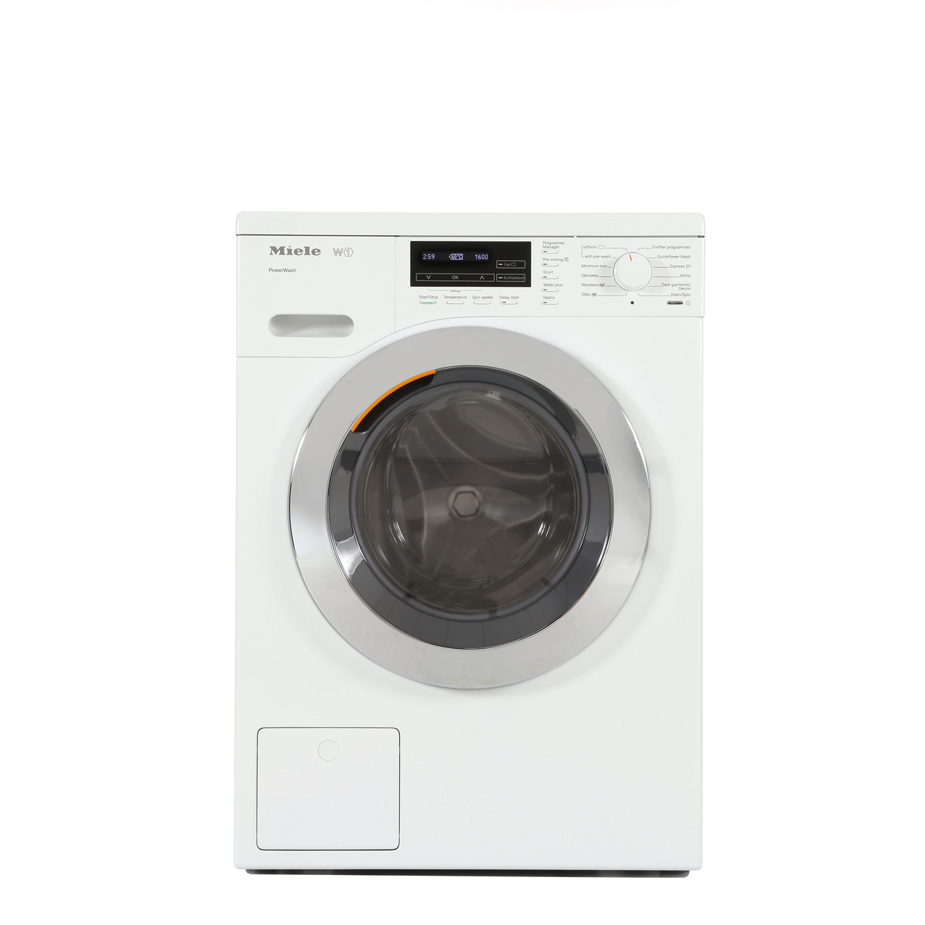 buy miele w1 chromeedition wkf120 washing machine wkf120 lotus white marks electrical. Black Bedroom Furniture Sets. Home Design Ideas