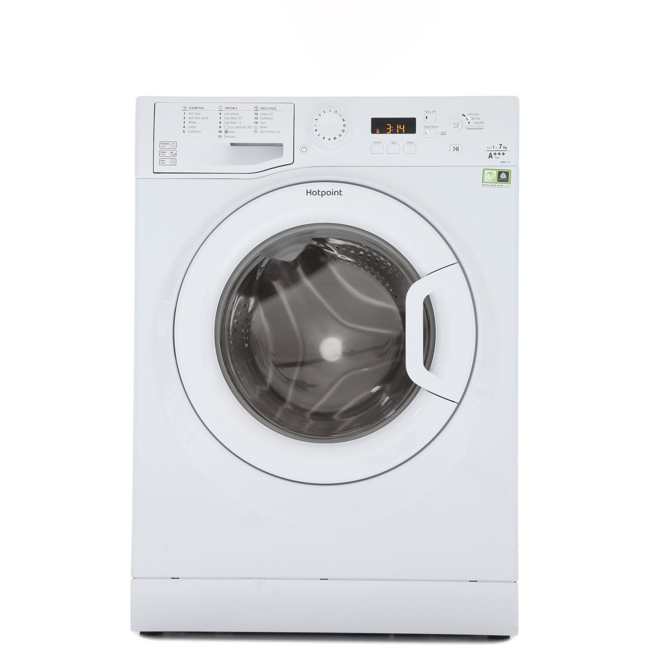 Buy Hotpoint Wmbf763p Washing Machine White Marks