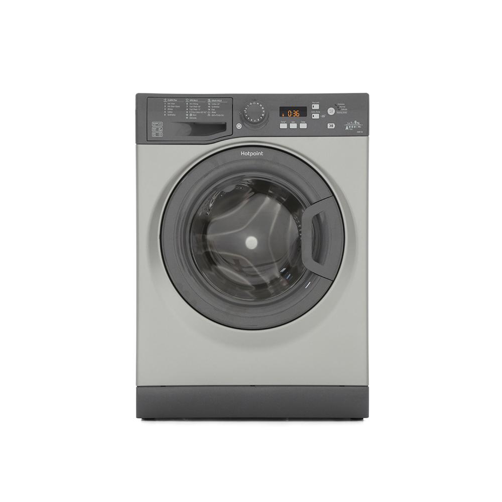 Buy Hotpoint Wmbf844g Washing Machine Graphite Marks