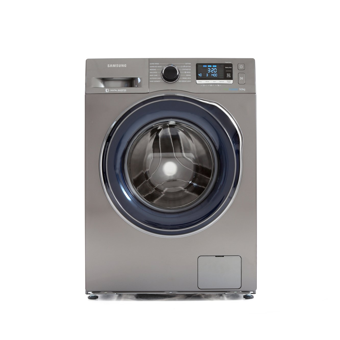 Buy Samsung WW90J6410CX Washing Machine - Inox | Marks ...