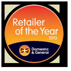 Retailer of the Year 2013 - Runner Up