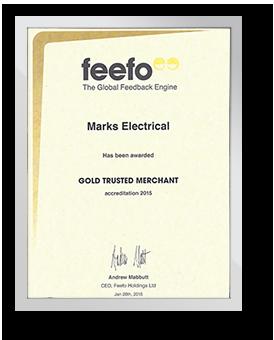 Feefo Gold Trusted Merchant - 2015