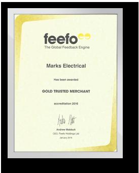Feefo Gold Trusted Merchant - 2016