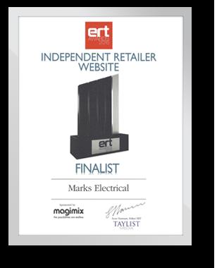 Independent Retailer Website - Finalist