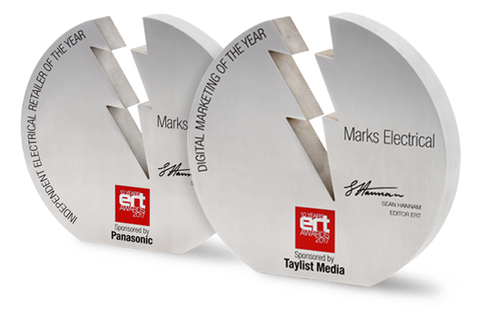 ERT Awards 2017 Trophies