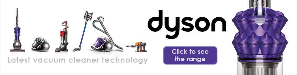 See the full Dyson Range of Vacuum Cleaners