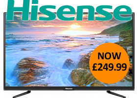 "Outstanding value 40"" Full HD TV with Freeview HD. Now only �249.99!"
