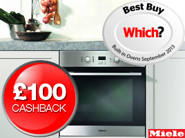 Claim �100 cashback with the award-winning Miele H2361B and H2361BP ovens.