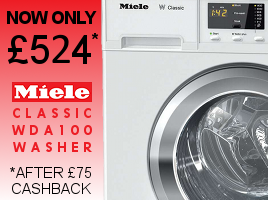 Thanks to �75 cashback, Miele quality is more affordable than ever before.