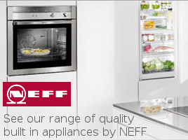 View our range of quality German built in kitchen appliances by NEFF.