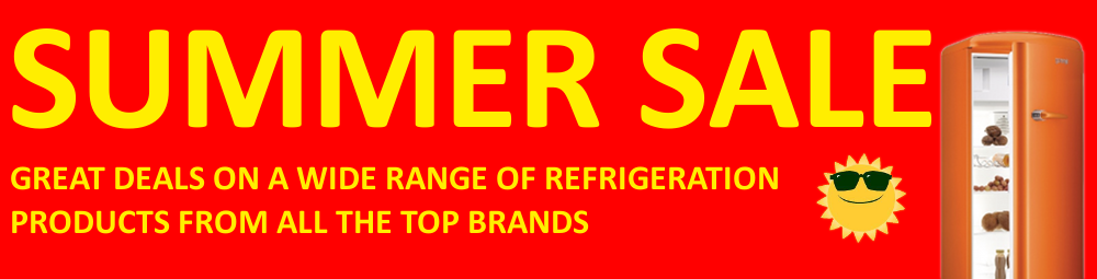 Summer Sale - Big savings on refrigeration models from all top brands