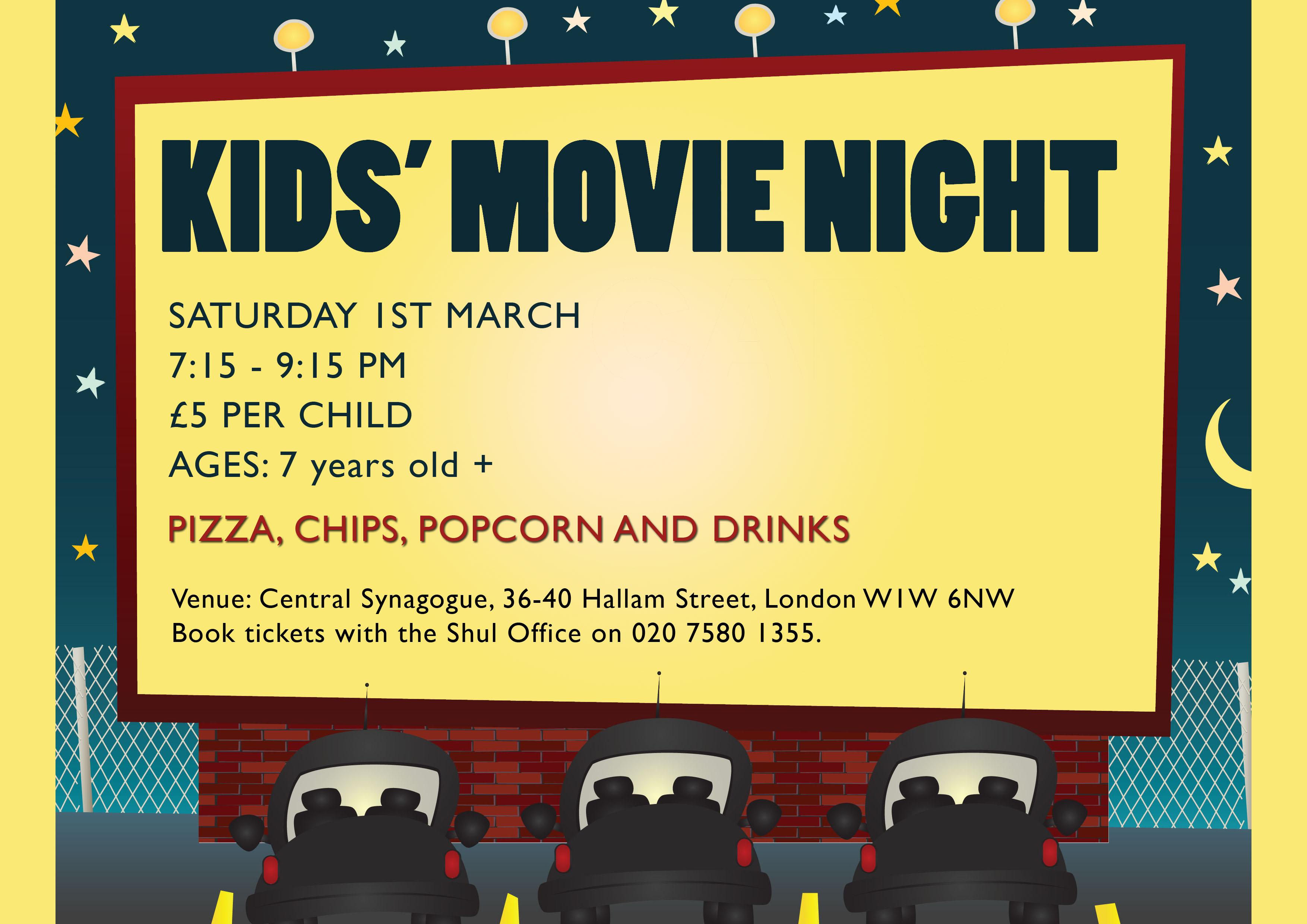 Kids movie night 1 March 2014 copy