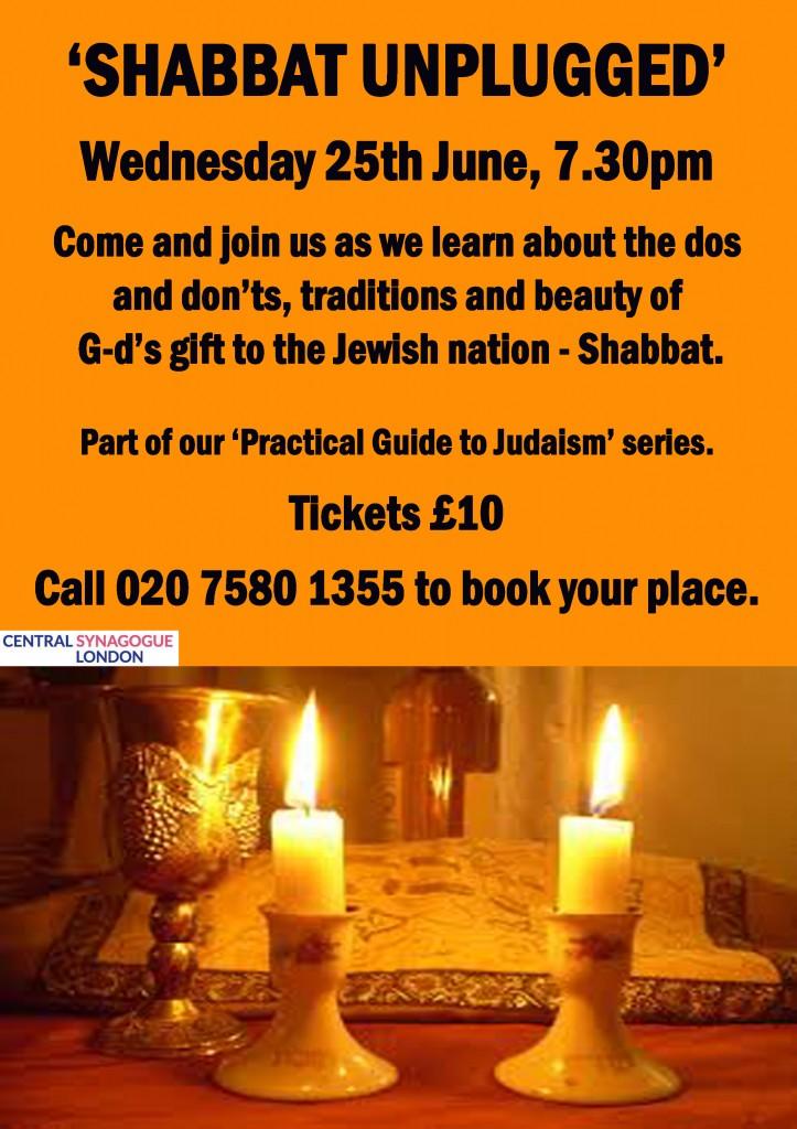 Shabbat Unplugged Lecture copy