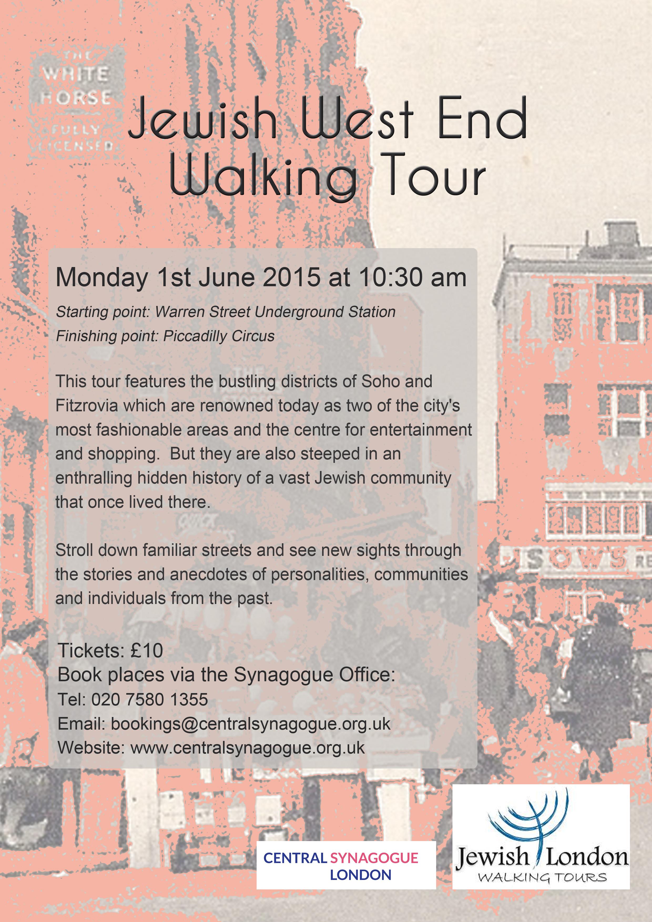West End walking tour copy