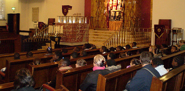 A tour of Londons Central Synagogue