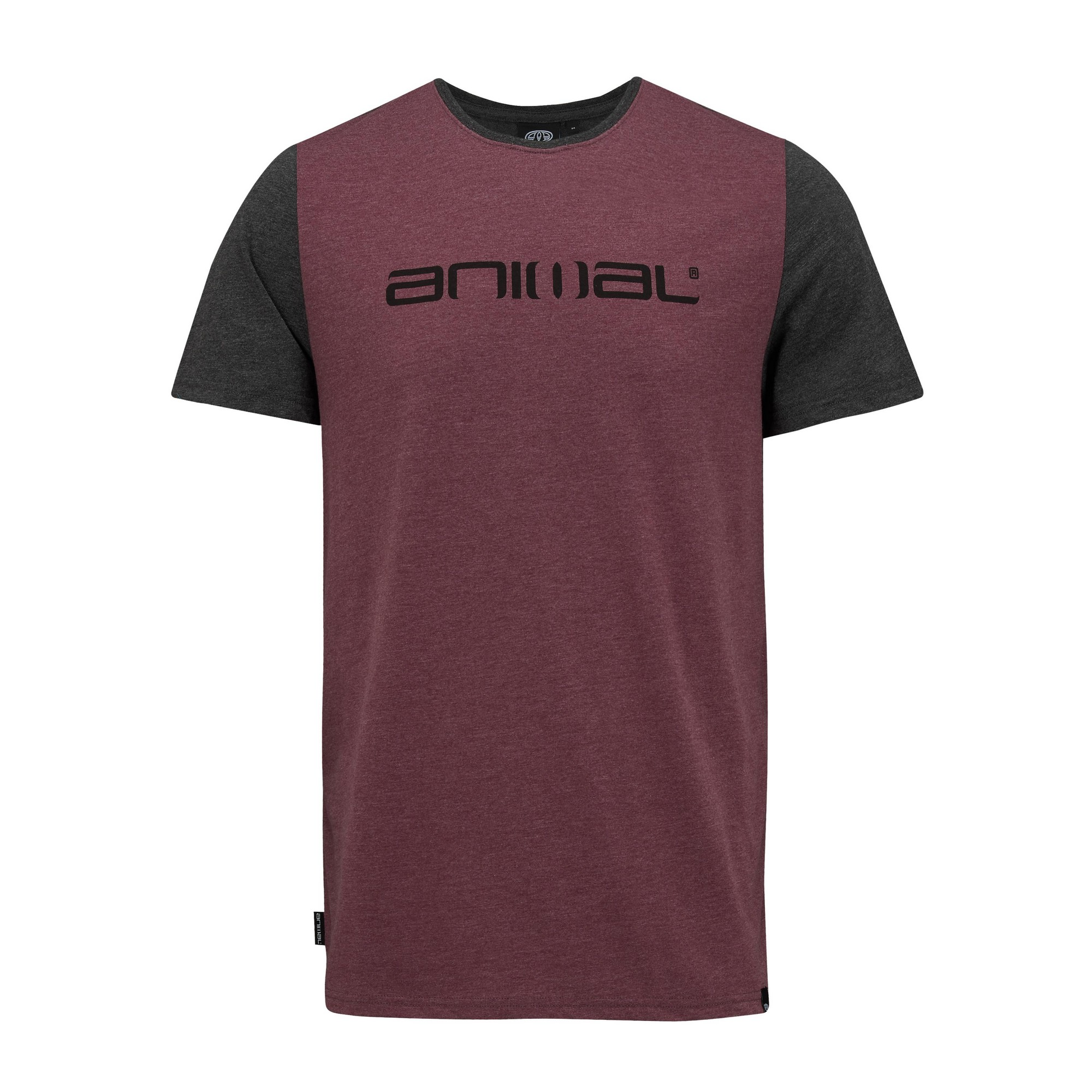 Animal-Camiseta-manga-corta-contraste-Modelo-Jeff-hombre-caballero