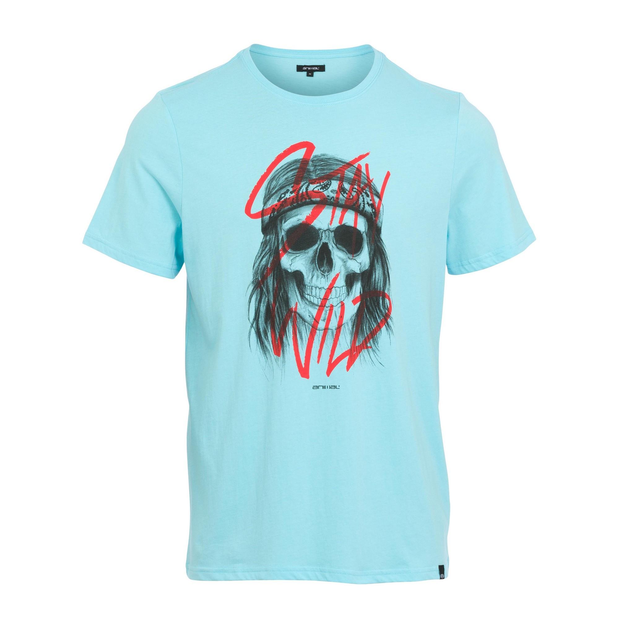 Animal-Camiseta-de-Manga-Corta-Diseno-Rocco-para-Hombre