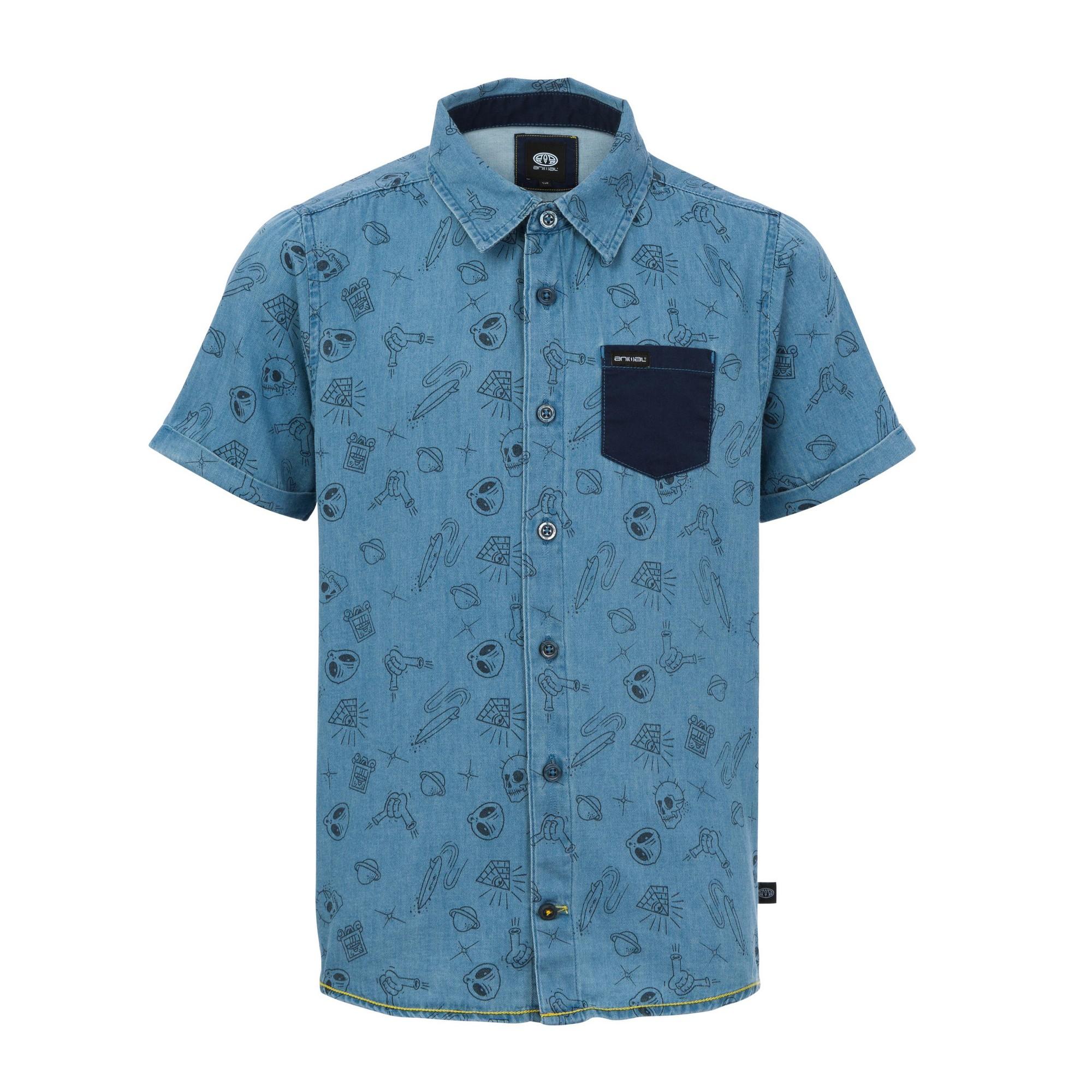 Animal-Childrens-Boys-Marvin-Short-Sleeve-Shirt