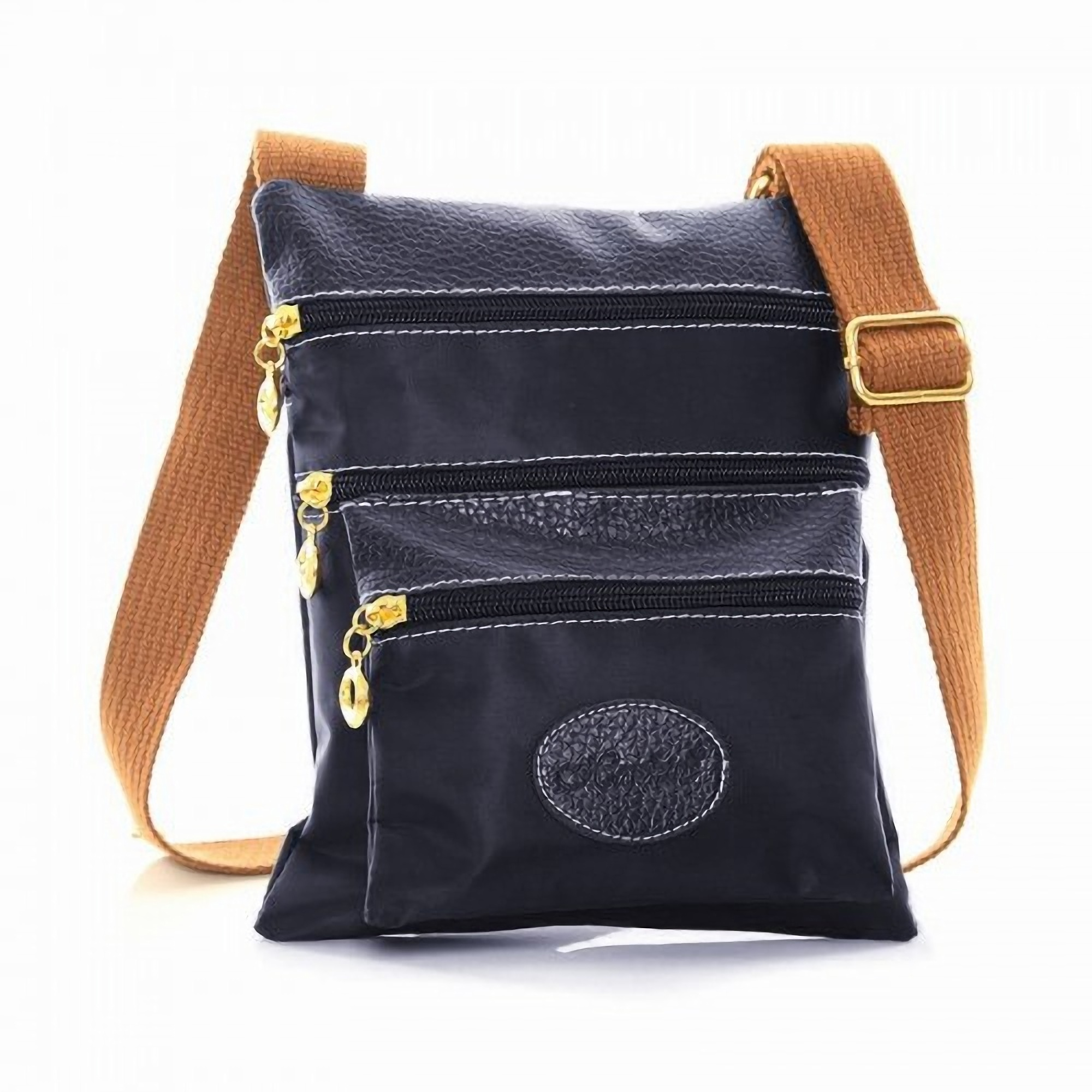Womens /Ladies Casual Plain Cross Body Shoulder Strap Bag ...