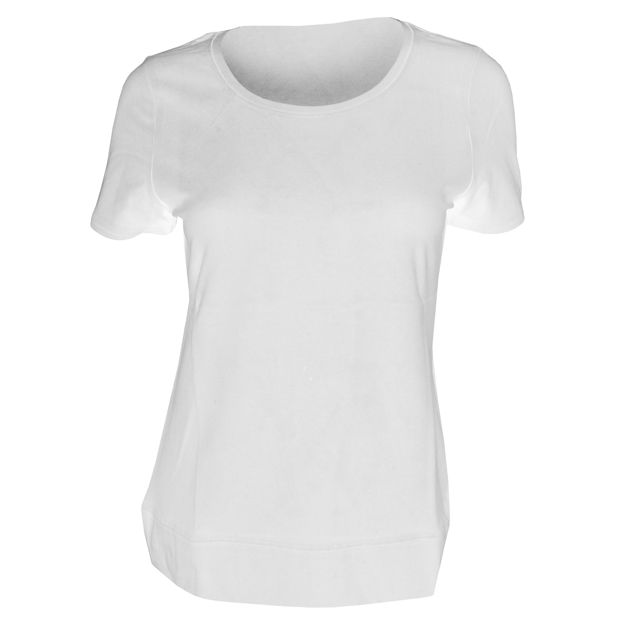 Russell Collection Ladies//Womens Short Sleeve Strech Top BC1041