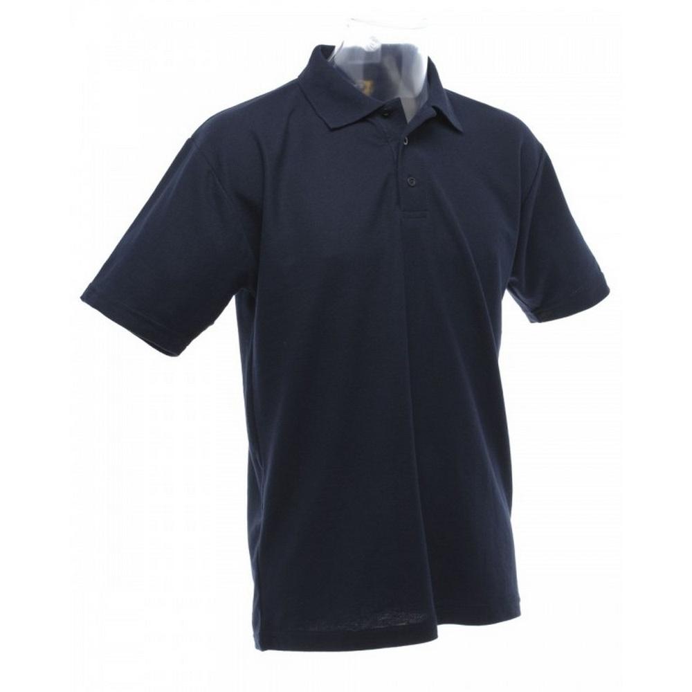 UCC 50//50 Mens Plain Piqué Short Sleeve Polo Shirt BC1194