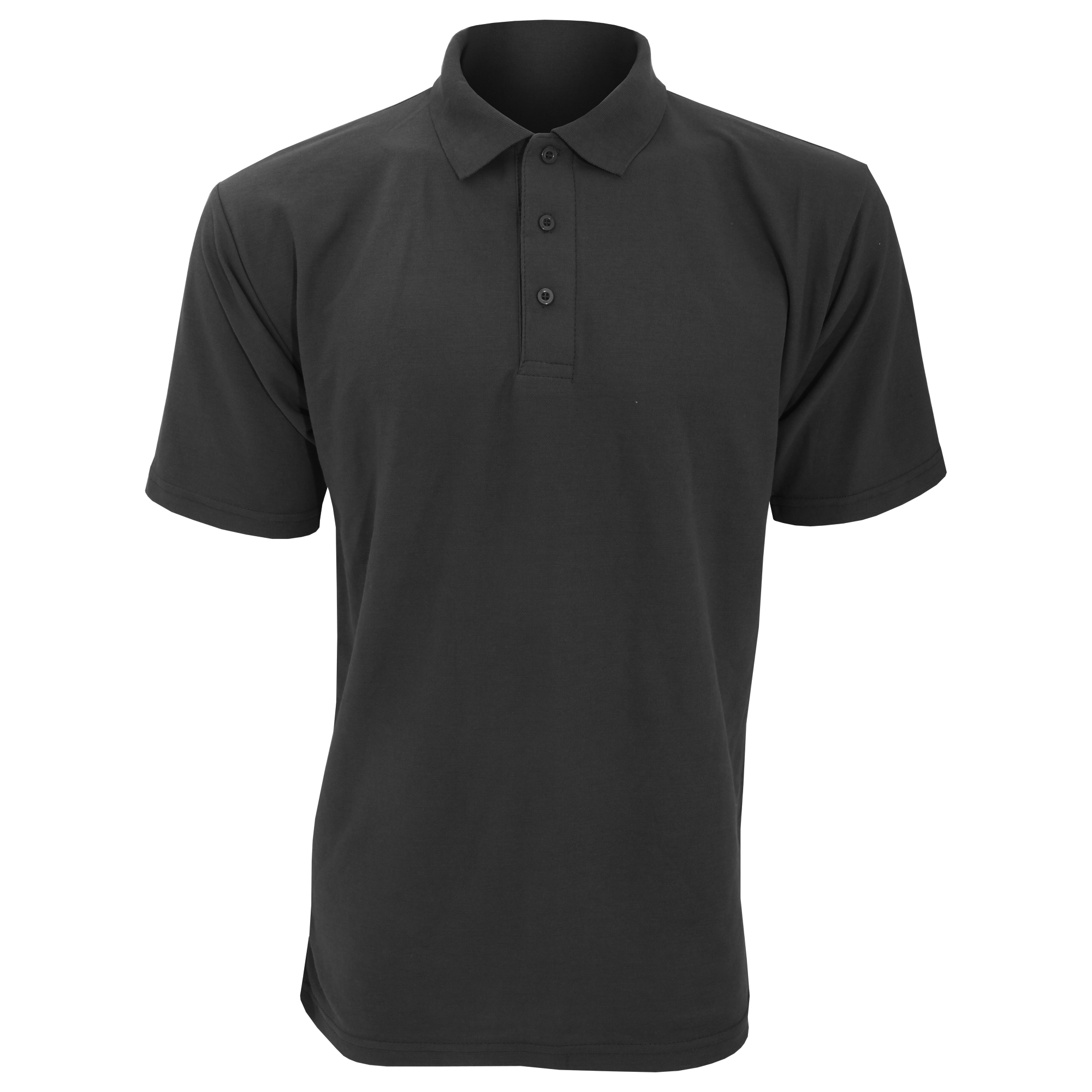 Ucc 50 50 mens plain piqu casual short sleeve polo shirt for Mens xs golf shirts