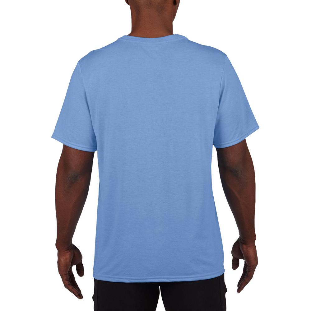 Gildan mens core performance sports short sleeve t shirt for Mens extra short sleeve t shirts