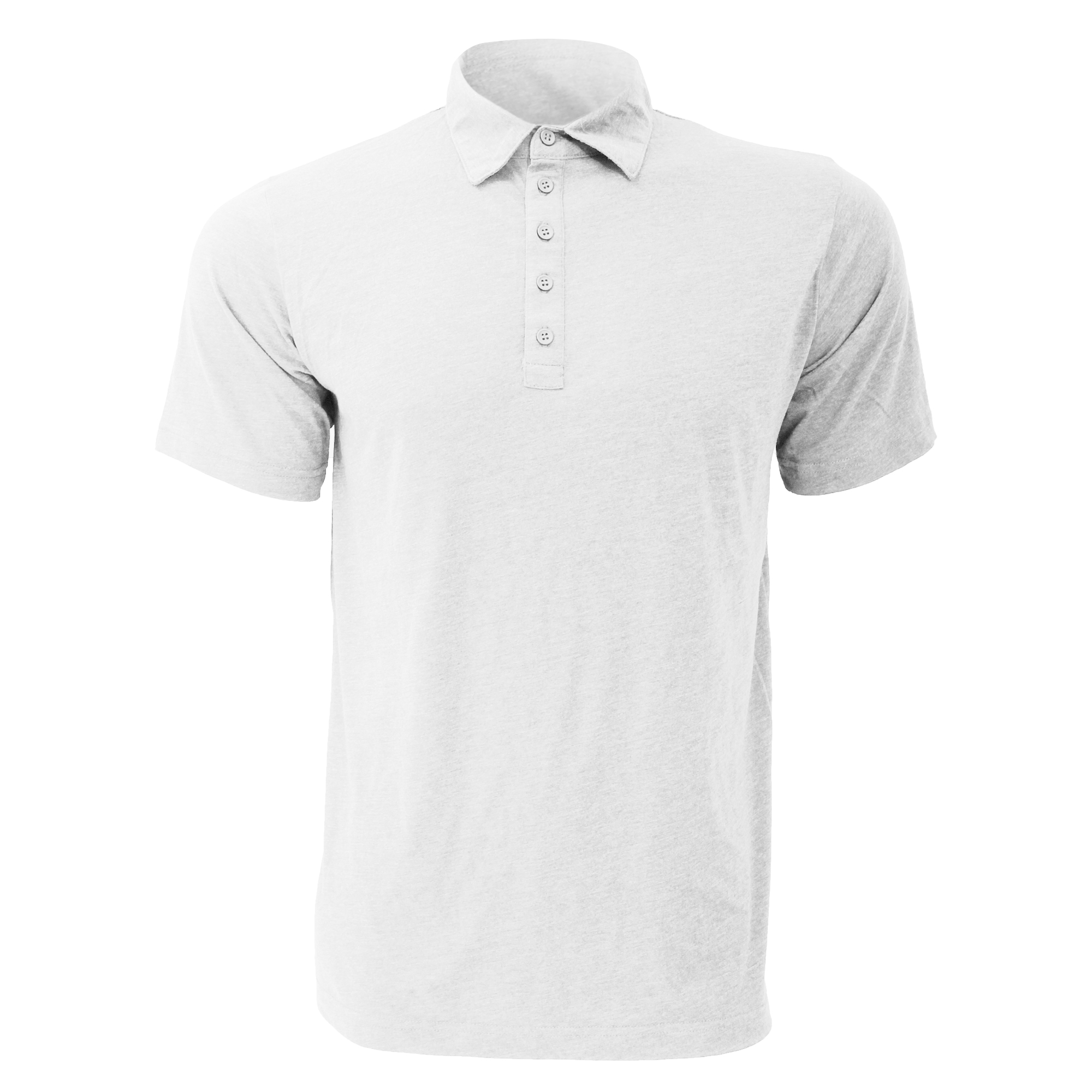Canvas jersey 5 button polo mens short sleeve polo for Polo shirts without buttons