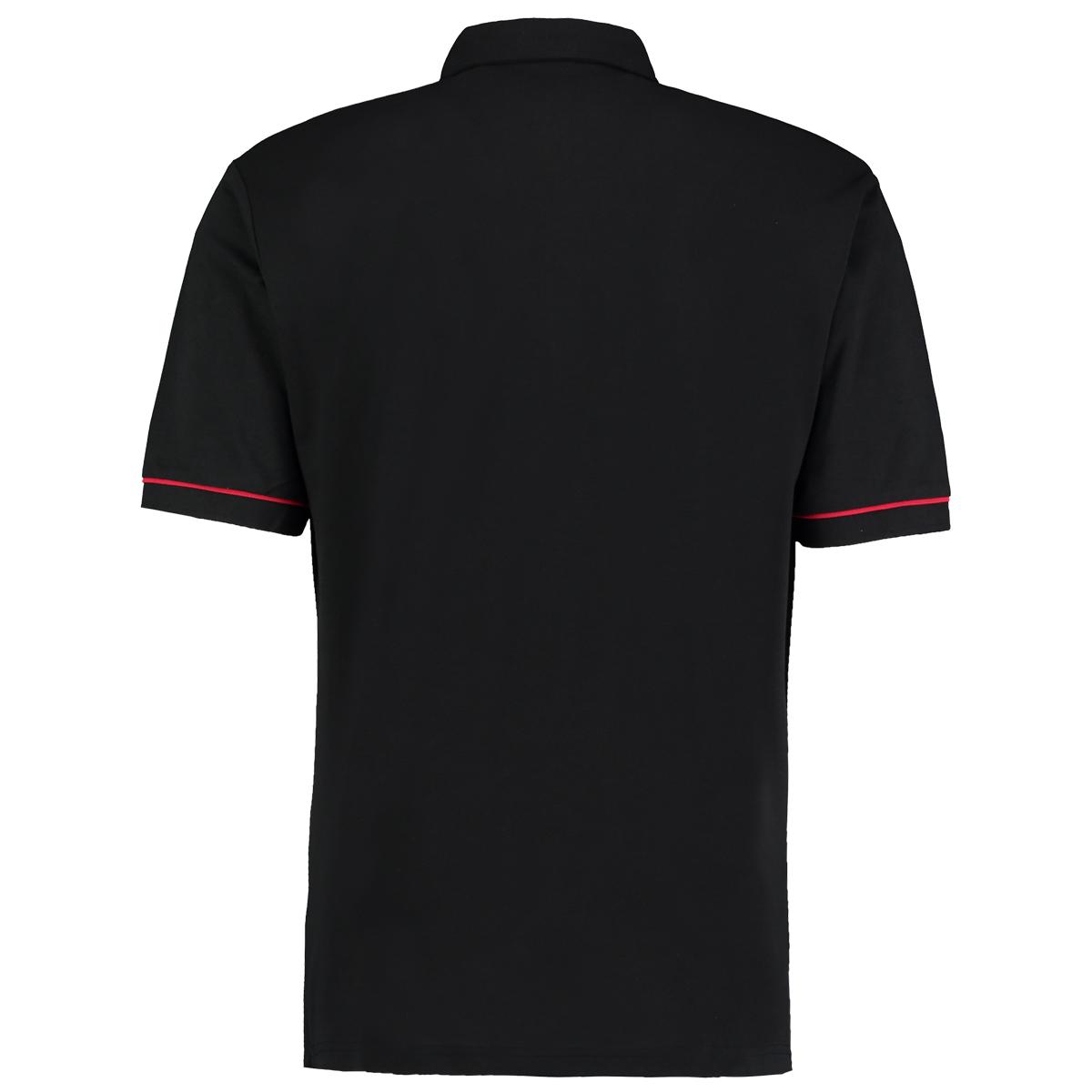 Kustom kit mens button down contrast short sleeve polo for Best short sleeve button down shirts reddit