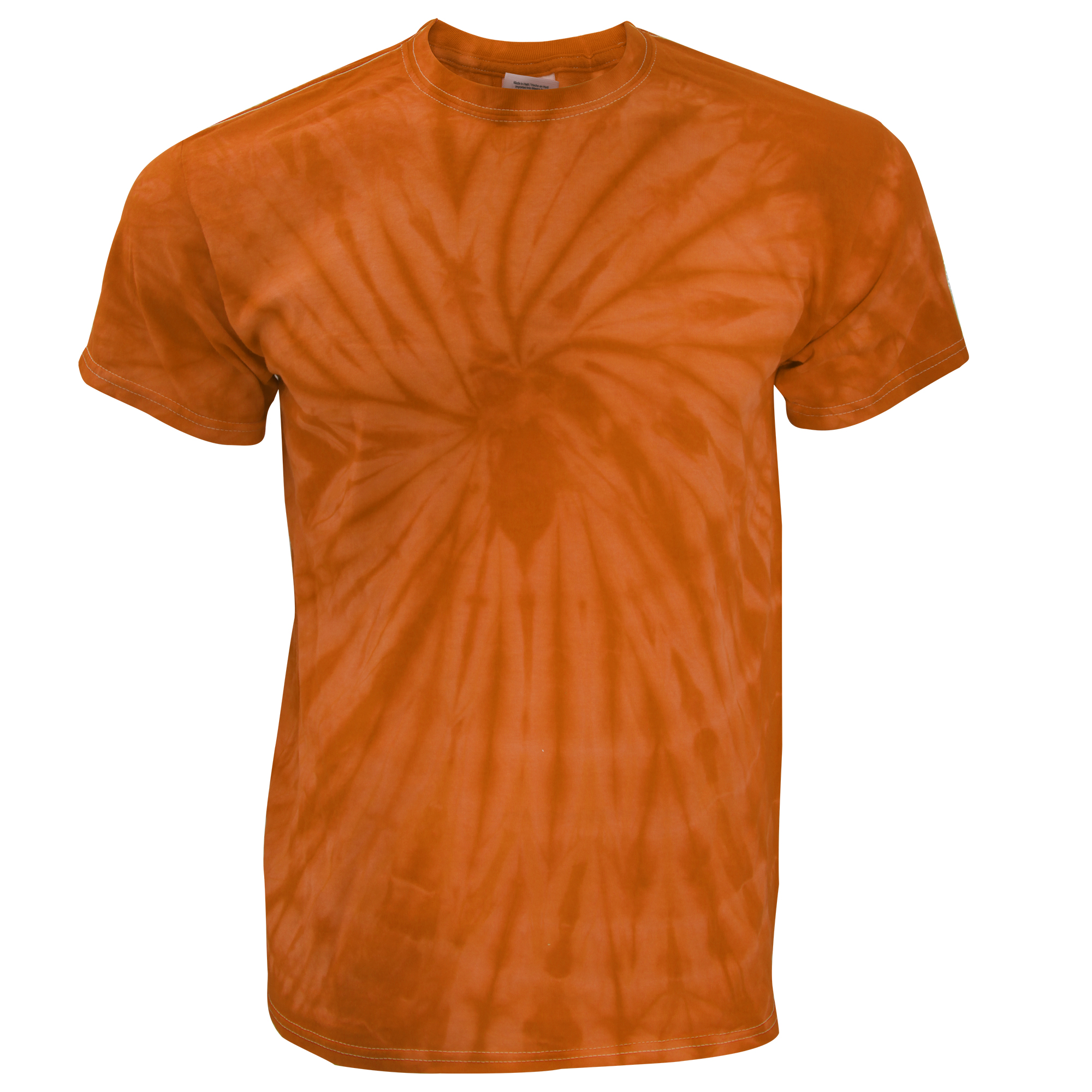 Tduk mens short sleeve spiral tie dye t shirt ebay for Nike tie dye shirt and shorts