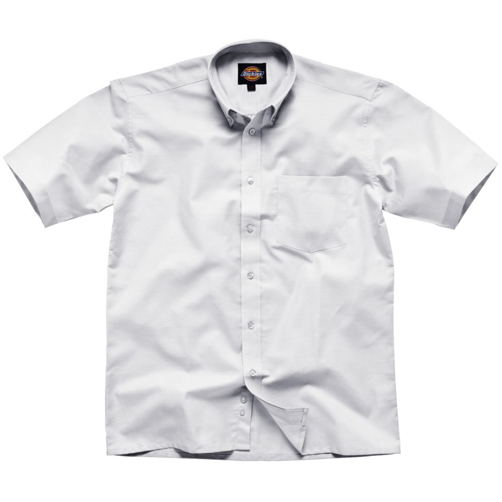Dickies Short Sleeve Cotton Polyester Oxford Shirt Mens