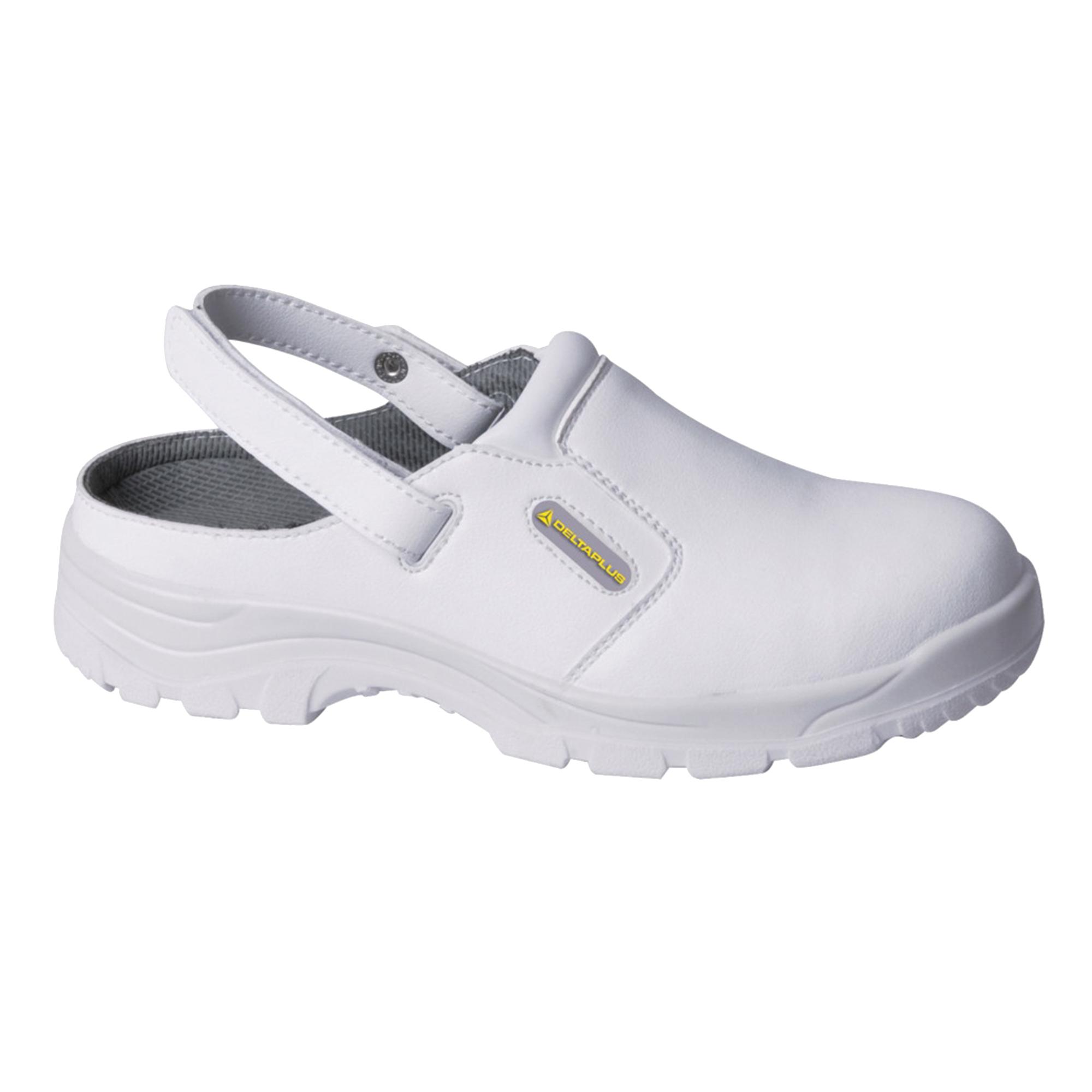 delta plus mens womens hygiene non slip safety clog shoes