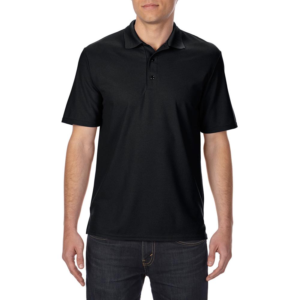 Gildan mens performance sport double pique polo shirt for Men s performance polo shirts