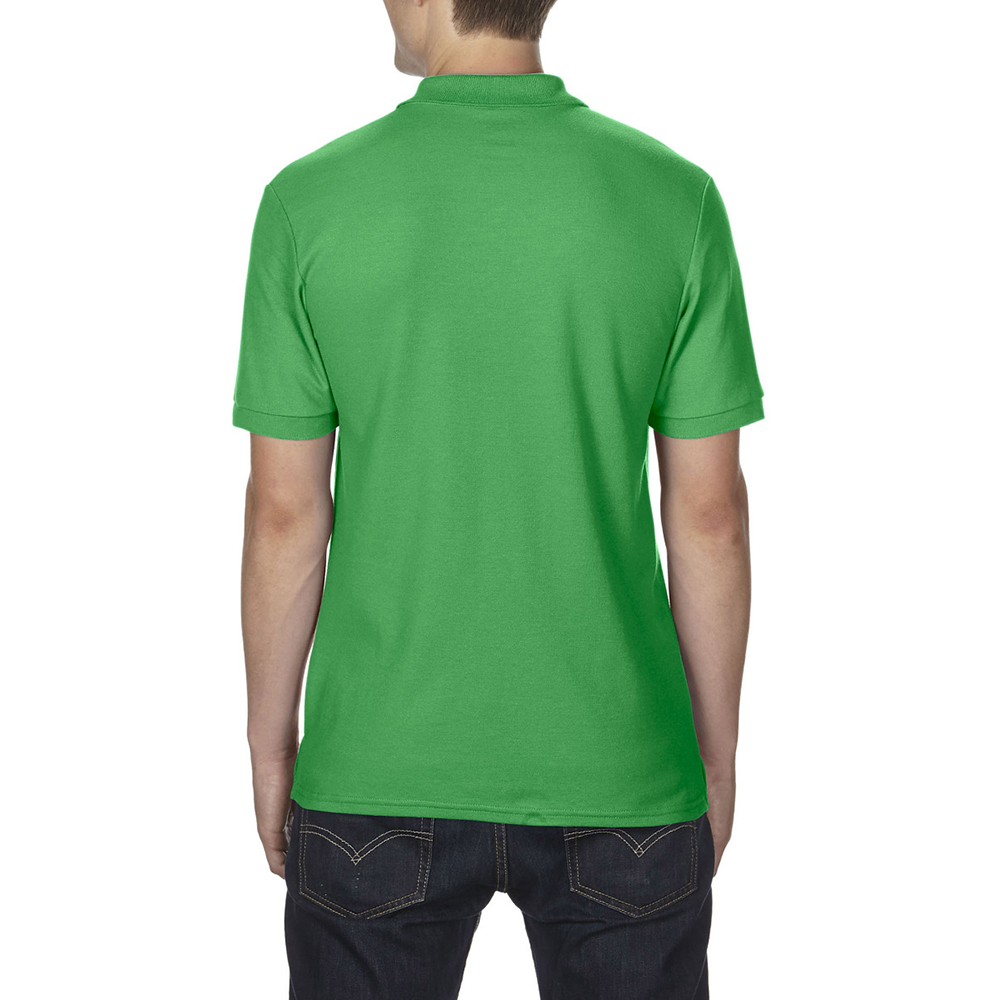 Gildan mens dryblend adult sport double pique polo shirt for Men s athletic polo shirts