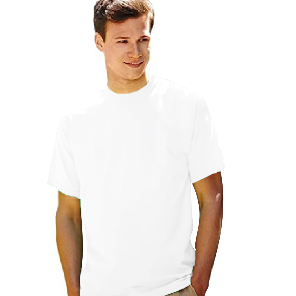T-shirt-a-manches-courtes-Fruit-Of-The-Loom-100-coton-pour-homme-S-3XL