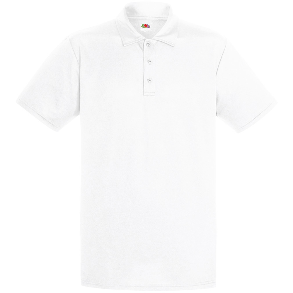 Fruit Of The Loom Mens Short Sleeve Moisture Wicking