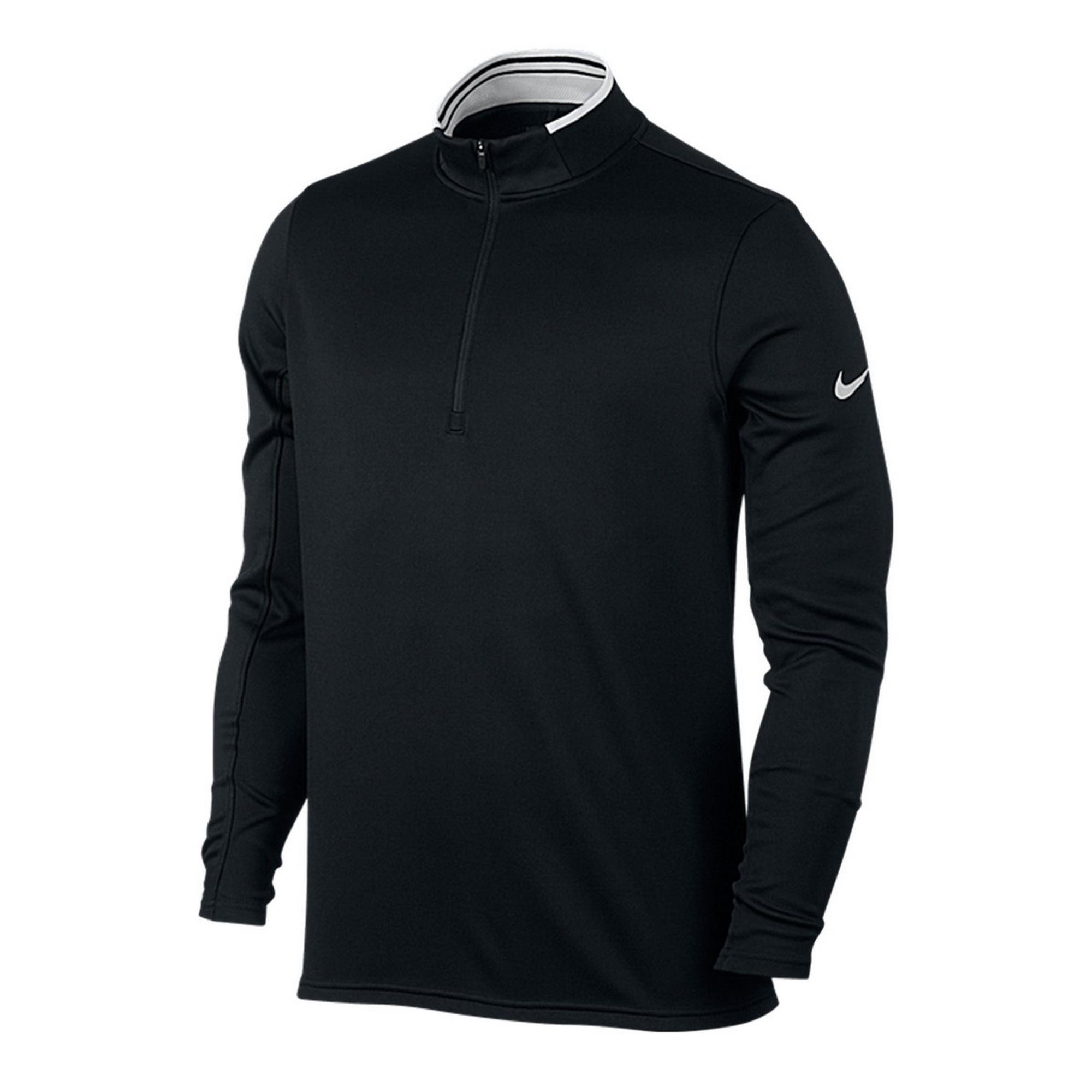 nike golf mens drifit half zip sweater top ebay