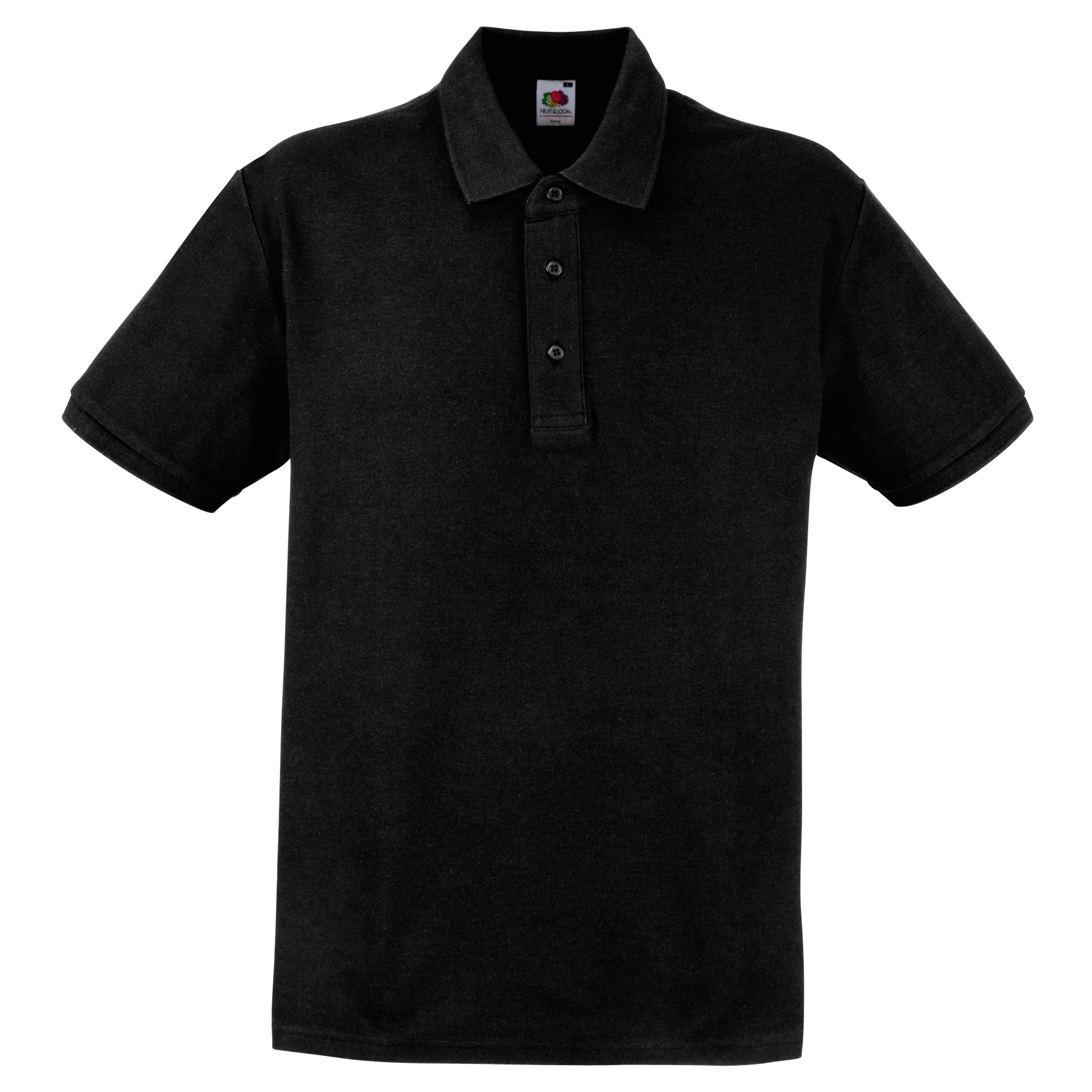 Fruit of the loom mens 100 cotton heavyweight short for Mens cotton polo shirts