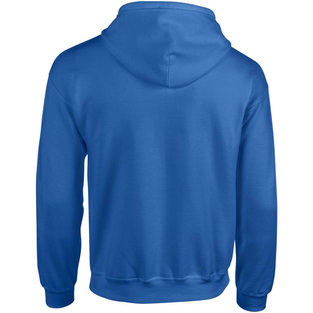 homme Gildan Sweatshirt à capuche et fermeture zippée BC471