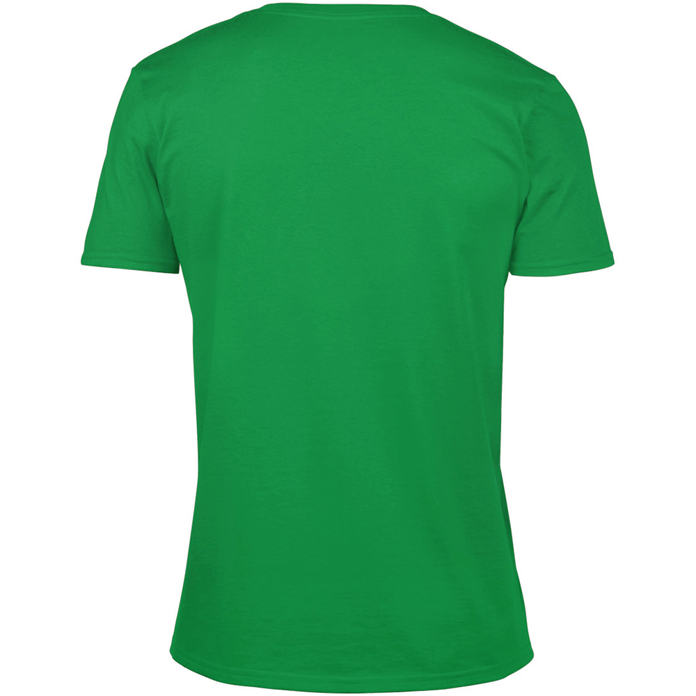 Gildan mens soft style v neck short sleeve t shirt ebay for Gildan v neck t shirts for men