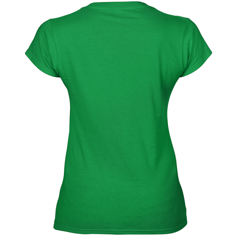 Gildan ladies soft style short sleeve v neck t shirt ebay for Gildan t shirt styles