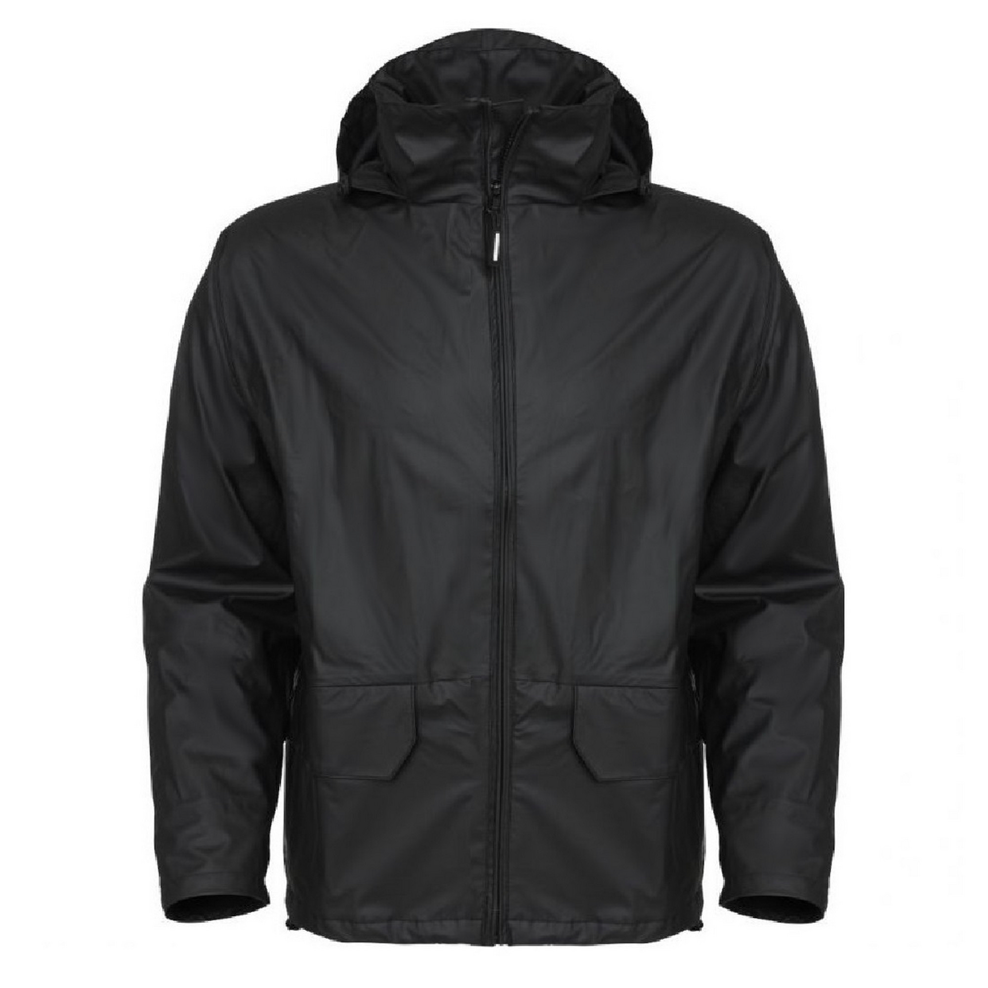 helly hansen voss casual zip up hooded waterproof jacket coat mens workwear ebay. Black Bedroom Furniture Sets. Home Design Ideas