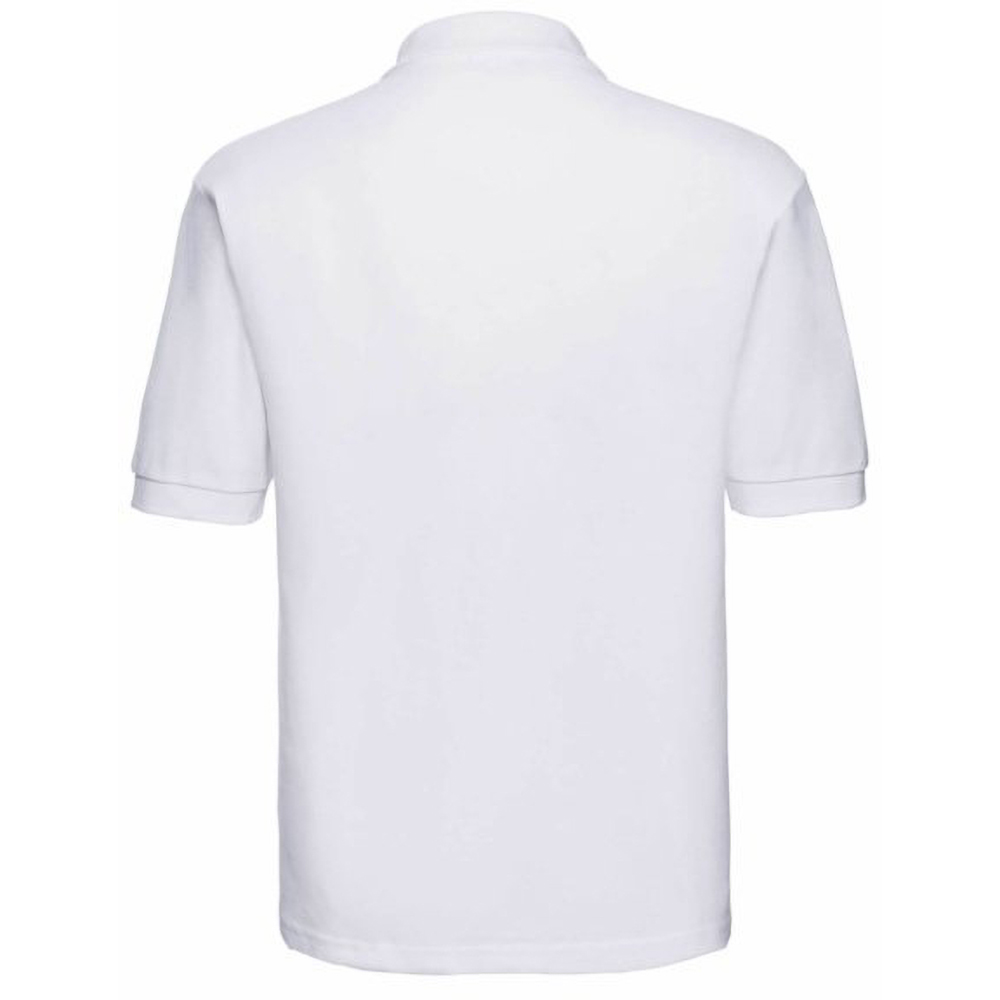 Jerzees Colours Mens 65 35 Hard Wearing Pique Short Sleeve