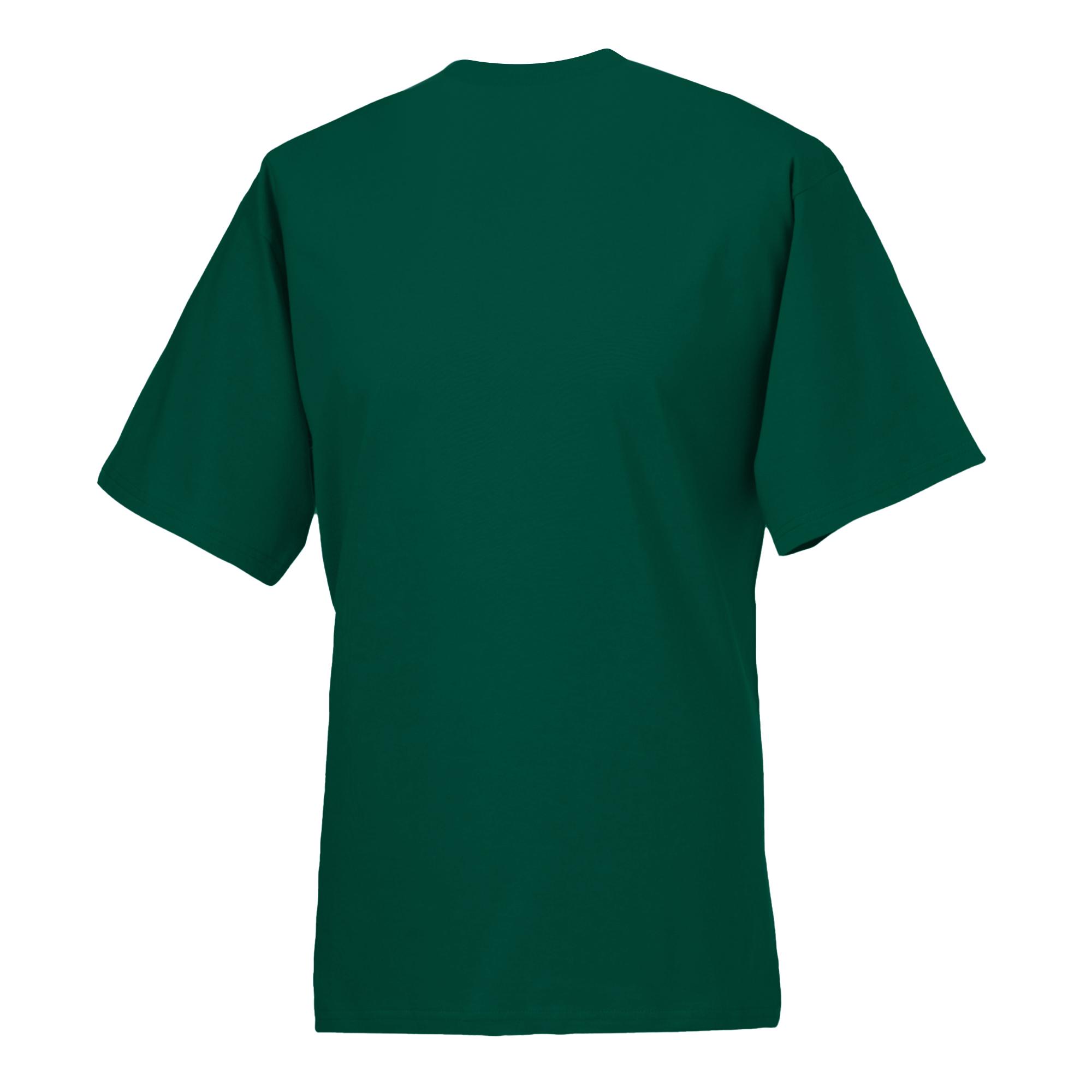 T-shirt-a-manches-courtes-Russell-100-coton-pour-homme-XS-6XL