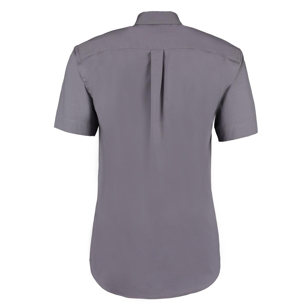 Kustom Kit Mens Short Sleeve Corporate Oxford Shirt Ebay