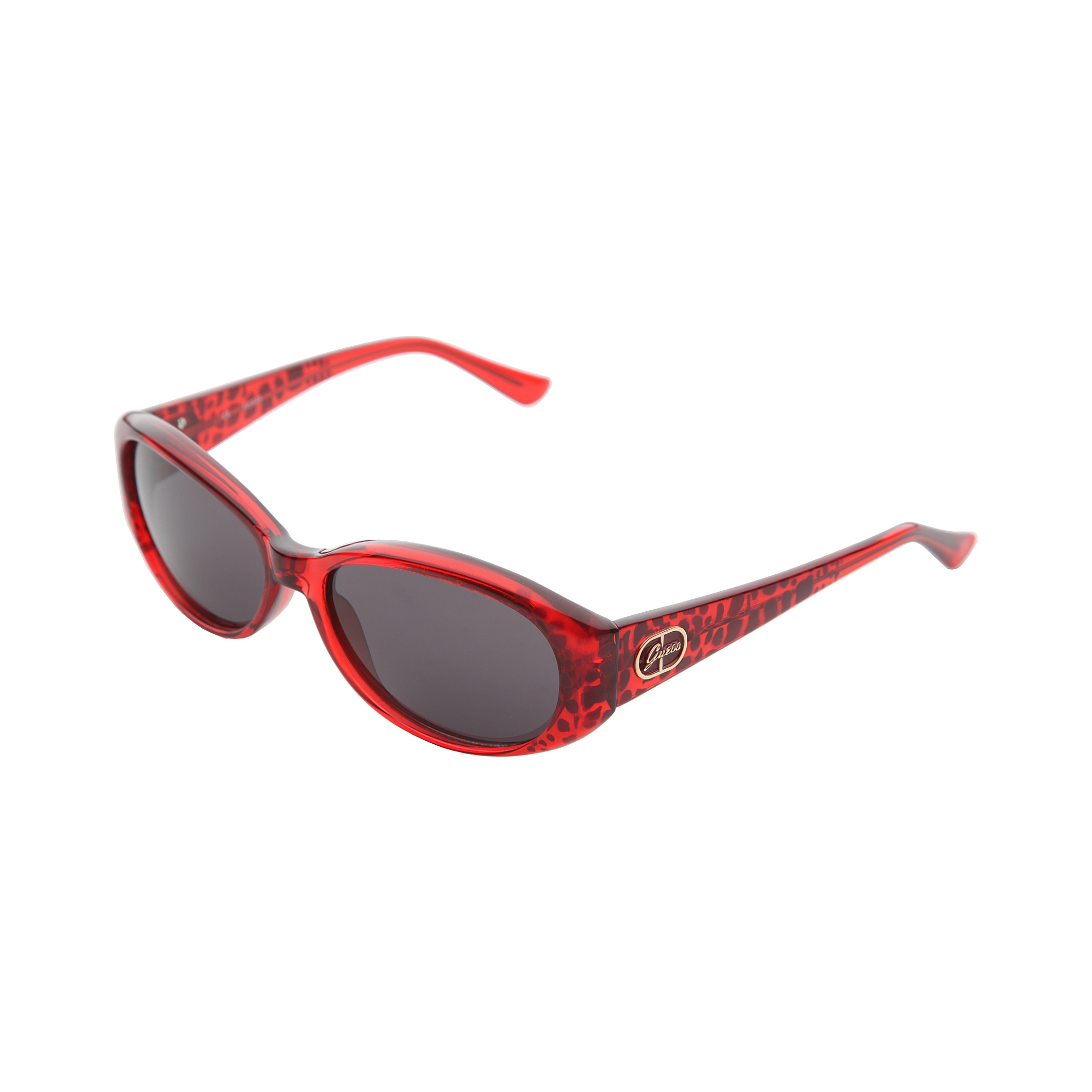 Guess Womens/Ladies GU7220 Sunglasses With Leopard Print ...